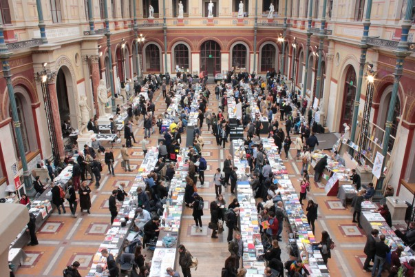 Offprint Paris, Beaux-Arts de Paris. Photo de Gaël Gouault, 2014